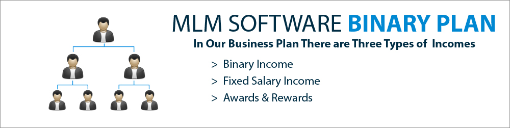 Binary Plan  MLM Software - LBS Software